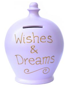 S247 Lilac with Wishes and Dreams in Gold