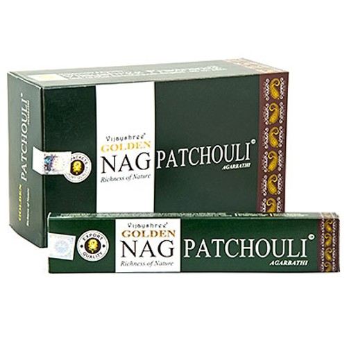 Golden Nag - PATCHOULI