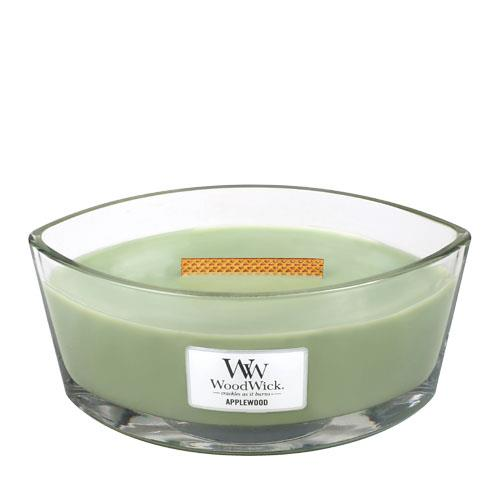 WoodWick Applewood Hearthwick Jar Candle