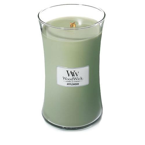 WoodWick Applewood Large Jar Candle