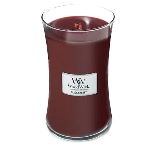 WoodWick Black Cherry Large Jar Candle