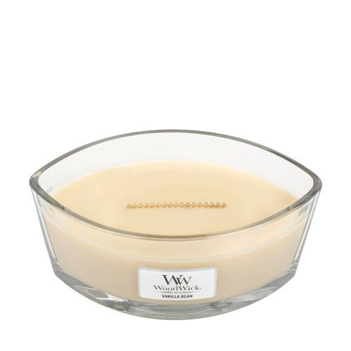 WoodWick Vanilla Bean Hearthwick Jar Candle