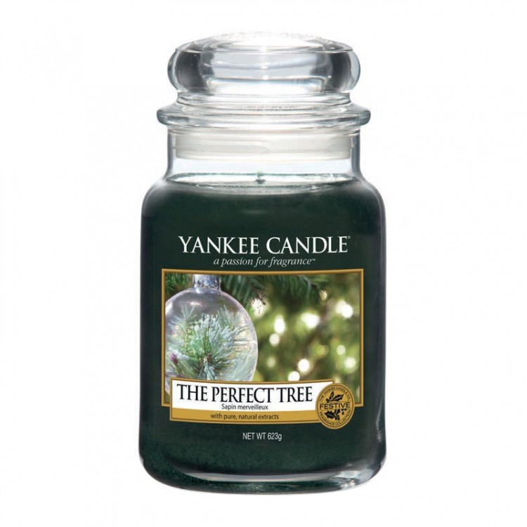 Yankee Candle The Perfect Tree Large Jar Candle