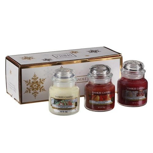 Yankee Candle 3x Small Jar Candle Gift Box