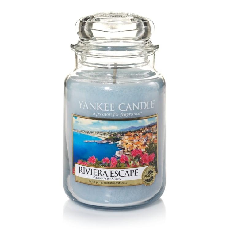 Riviera Escape Large Jar Candle