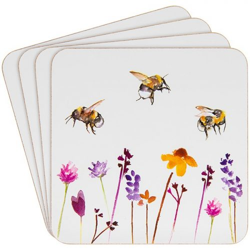 Busy Bees Coaster Set of 4
