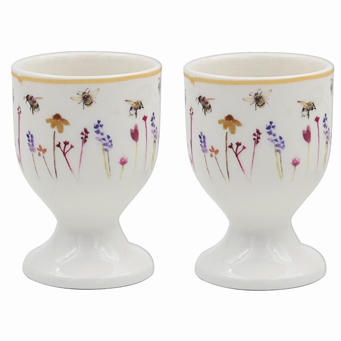 Busy Bees Egg Cup Pair