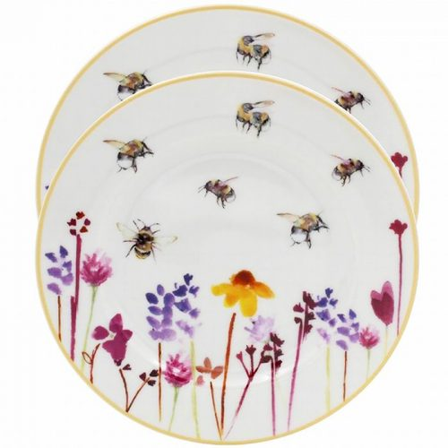 Busy Bees Plates Set of 2