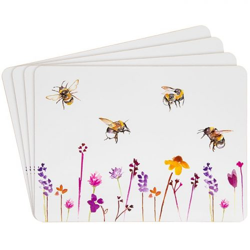 Busy Bees Table Mat Set of 4