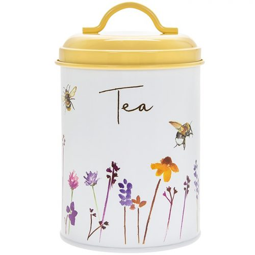 Busy Bees Tea Cannister