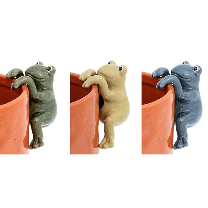 Pot Hangers Frogs