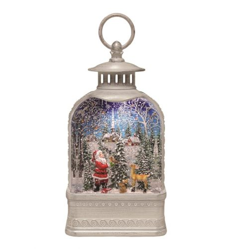 Arch Lantern Spinner Father Christmas