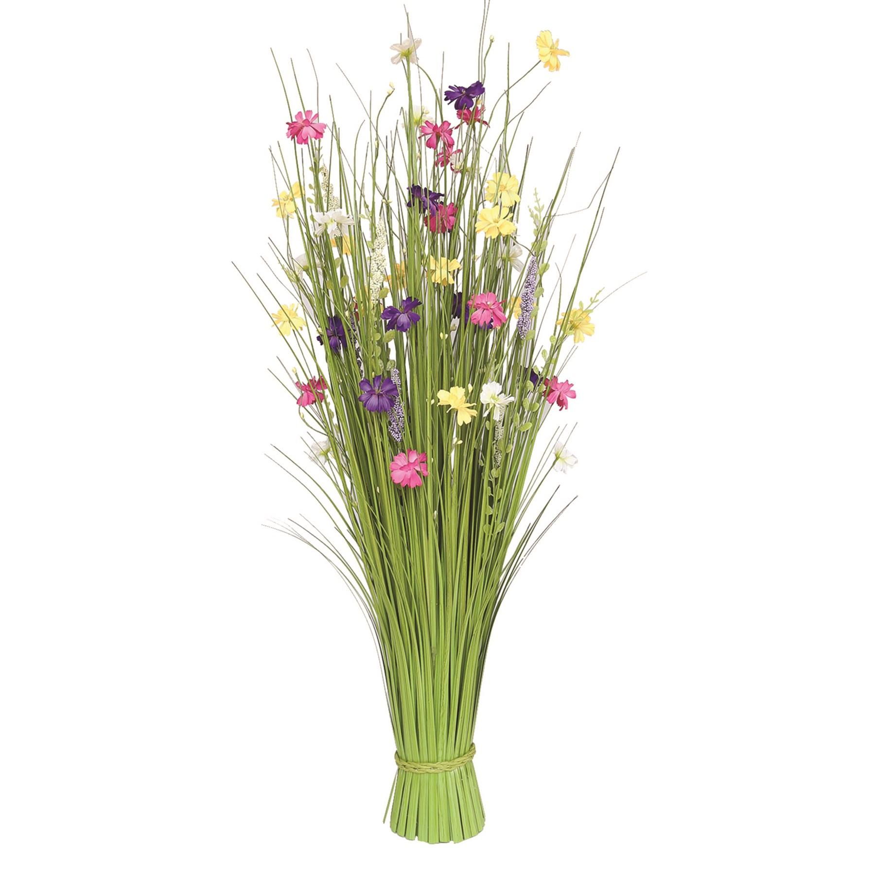 Grass Floral Bundle Mixed Flowers 100cm