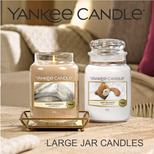 LARGE JAR CANDLES